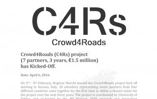 C4Rs PR kick-off header